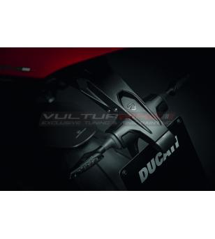 Portatarga in carbonio - Ducati Panigale V4 / V2 / Streetfighter V4