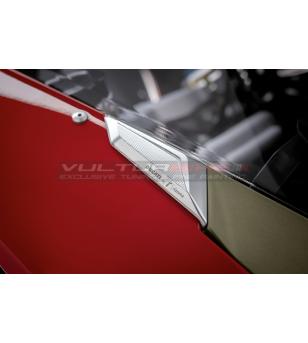 Cover fori specchi Racing - Ducati Panigale V4 / V4S / V2 2020