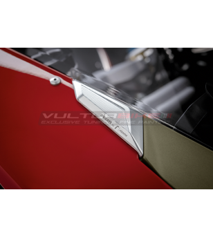 Racing Mirrored Holes Cover - Ducati Panigale V4 / V2 2020