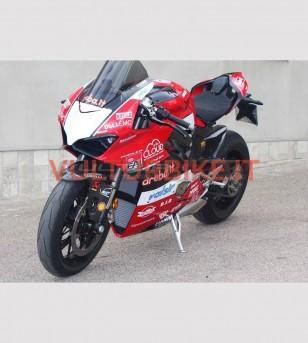 Version originale complète du Fairing Aruba Team - Ducati Panigale V4 / V4S