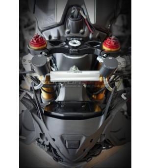 Depósito de aceite de freno delantero 25 ml - carbono