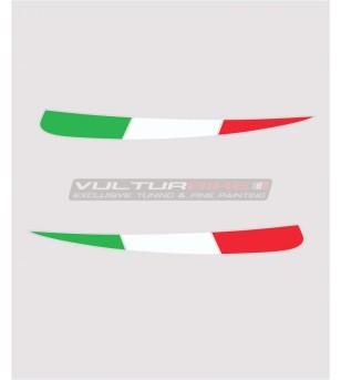 Drapeaux tricolores pour palmes - Ducati Panigale V4 / V4s / V4R