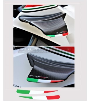 Italian tricolor flags for...