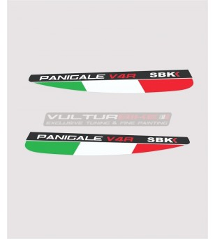 Bandiere italiane per alette - Ducati Panigale V4 / V4S / V4R