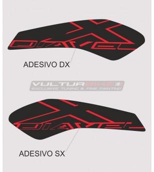 Adesivi protettivi per serbatoio grafica personalizzata - Ducati XDIAVEL