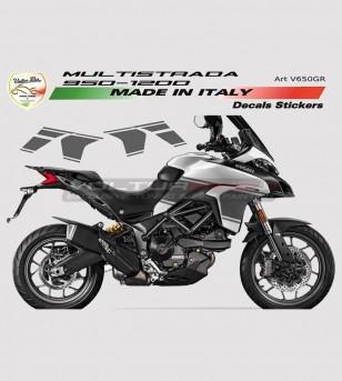 Kit de pegatinas - Ducati Multistrada 950/1200 DVT