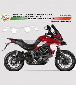 Kit Adesivi Fiancate - Ducati Multistrada 950/1200 DVT