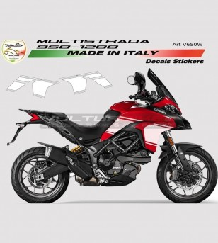 Side Fairings Stikers' Kit - Ducati Multistrada 950/1200 DVT