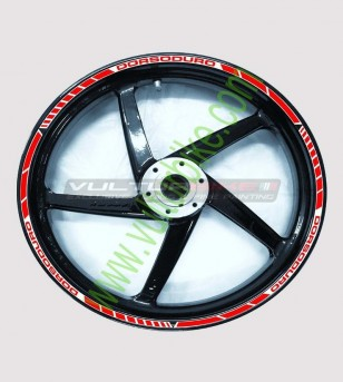 Wheels Stickers Set - Aprilia Dorsoduro