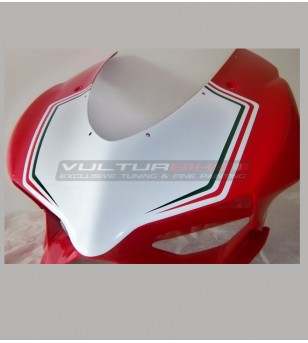 Tricolor stickers for front fairing - Ducati Panigale 899 / 1199