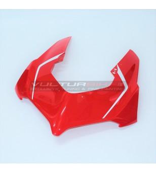 Original red front fairing...
