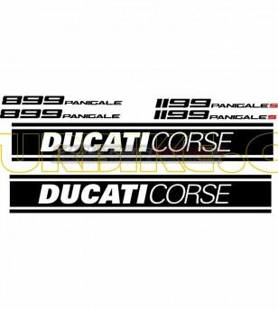 Adesivi per carene laterali - Ducati Panigale 899/1199