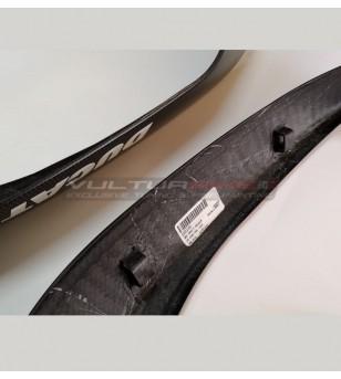 Cover laterali in carbonio per convogliatori aria Ducati Multistrada -1200-1260-1200 Enduro