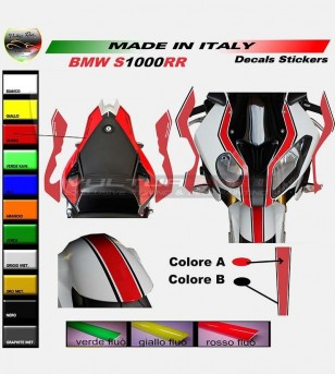 Kit completo pegatinas personalizables - Bmw s1000RR
