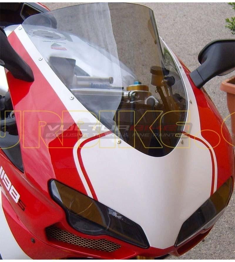 Front fairing colored sticker - Ducati 848/1098/1198