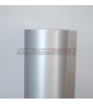 Película adhesiva para aluminio cepillado de satén wrapping