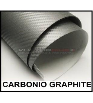 Pellicola adesiva per wrapping carbonio graphite