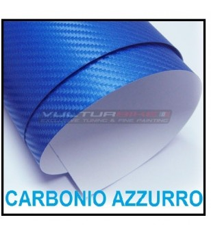 Adhesive wrapping film blue carbon