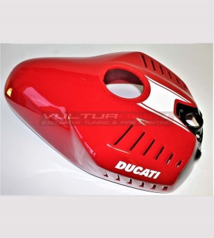 Tank's cover GP replica red varnished - Ducati Panigale 899 /1199 / 959 / 1299 / V2 2020