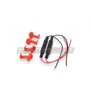 Resistencias cableadas para flechas LED