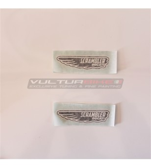 Pegatinas de logotipo Ducati Scrambler