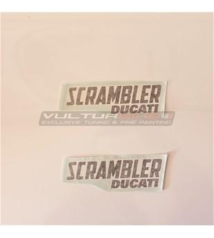 Adesivi Scrambler Ducati dimensioni a scelta