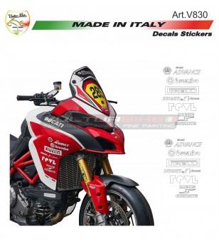 Kit de pegatinas del patrocinador técnico - Ducati
