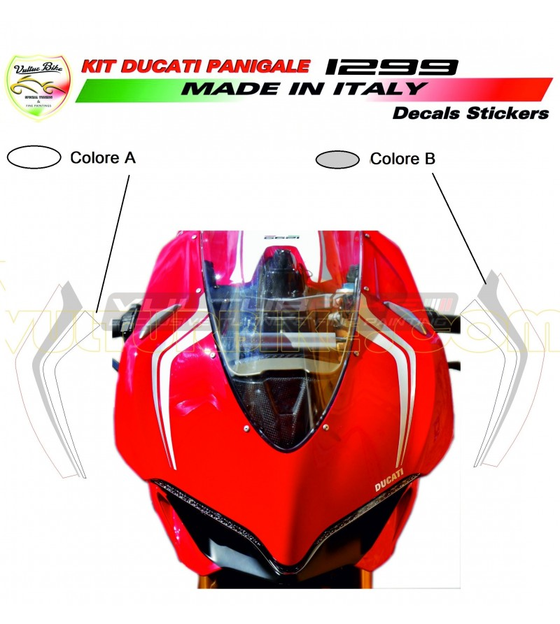 Customizable front fairing's stickers - Ducati Panigale 959/1299
