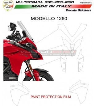 AVERY supreme protection film - Ducati Multistrada
