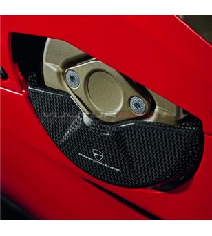 Protezione in carbonio per carter alternatore ORIGINALE - Ducati V4 / V4S 2020