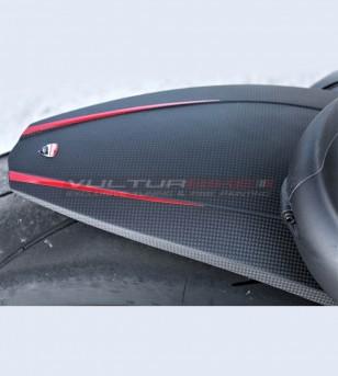 Aile arrière large carbone personnalisée - Ducati Panigale V4 / V4S / V4R