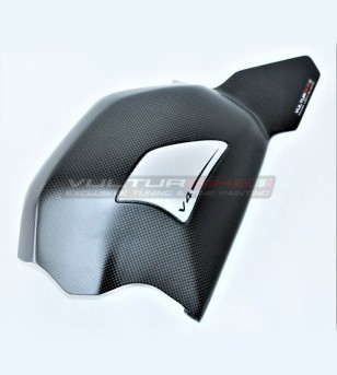 Custom designed swingarm cover with slider - Ducati Panigale V4 / V4S / V4R