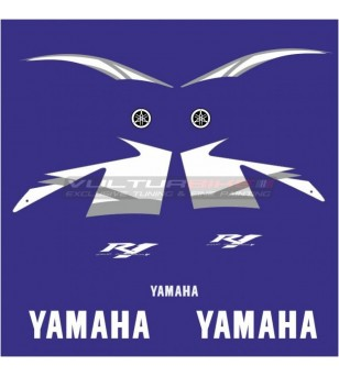 Complete stickers' kit replica - Yamaha R1 2005