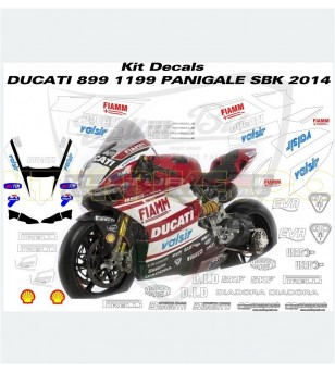 Superbike Replica Sticker Kit 2014 - Ducati Panigale 899/1199