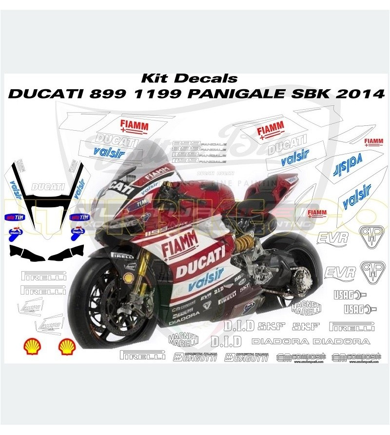 Superbike Replica Sticker Kit 2014 - Ducati Panigale 899/1199