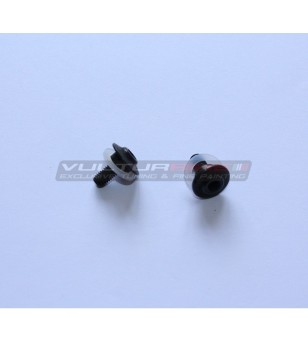 Viti + rondelle nylon  9x14x1 cm  ORIGINALE DUCATI
