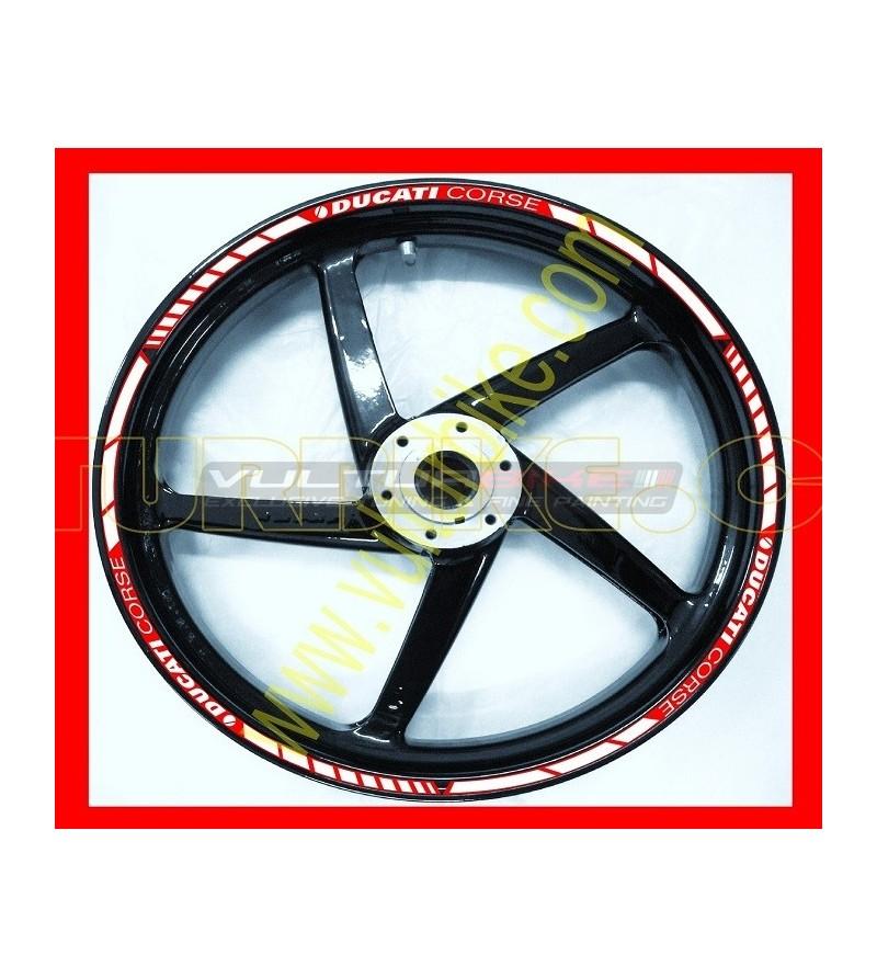 Wheels adhesive profiles  Ducati Corse