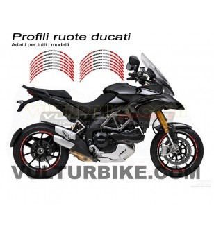 Wheels adhesive profiles Ducati Corse