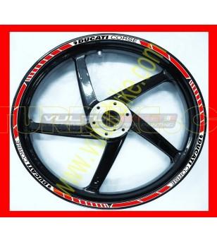 Profili adesivi ruote Ducati Corse