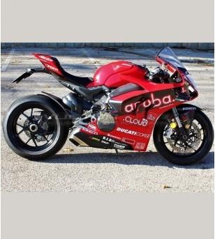 Kit adesivi completo replica SBK 2019 - Ducati Panigale V4R / V4 - 2020
