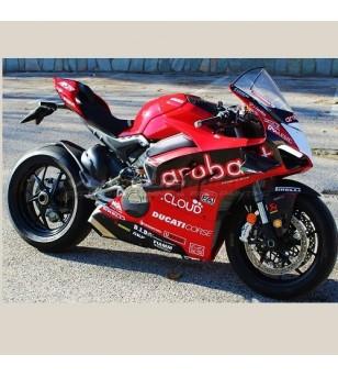 Kit Klebstoffe Aufkleber Modell Ducati 749 R Testastretta Superbike