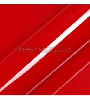Pellicola adesiva per wrapping rosso Ducati