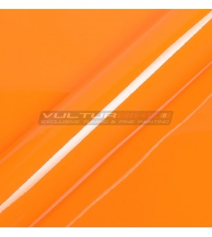 Adhesive wrapping film orange