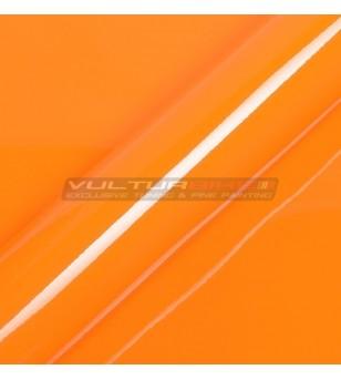 Pellicola adesiva per wrapping arancio