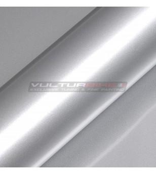 Pellicola adesiva per wrapping argento metalizzato