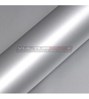 Pellicola adesiva per wrapping argento metalizzato opaco