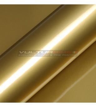 Pellicola adesiva per wrapping oro metalizzato