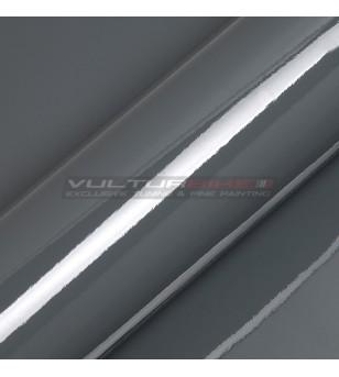 Pellicola adesiva per wrapping graphite metallizzato lucido
