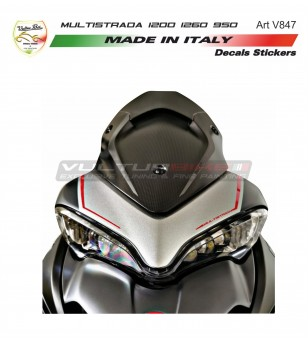 Front fairing stickers -...