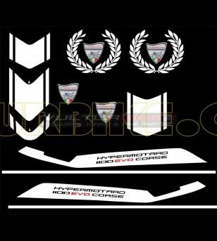 Stickers' kit EVO - Ducati Hypermotard 796/1100